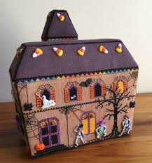 wendy u0027s quilts and more halloween haunted house
