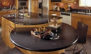 unique kitchen countertop ideas kitchen contemporary kitchen with coffee brown countertop also l