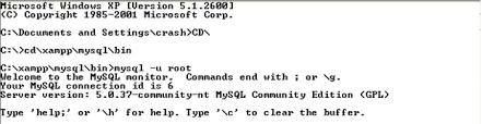 membuat database sederhana menggunakan xp creative learning contoh sederhana membuat database menggunakan mysql