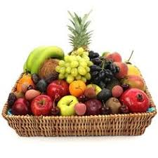 organic fruit basket delivery bountiful fruit gourmet gift basket large the clover pinboard