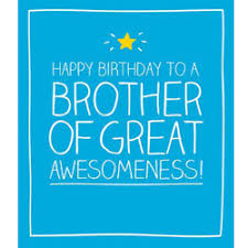birthday card happy jackson brother of great awesomeness