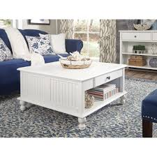 square cottage coffee table international concepts cottage beach white square coffee table ot07