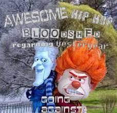 heat miser vs snow miser awesome hip hop bloodshed regarding