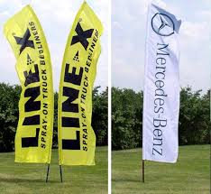 custom promotional flags for outdoor advertising inside out