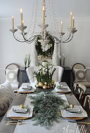 Dear Chandelier Dear Lillie Farmhouse Holiday Series Our Christmas Dining Room