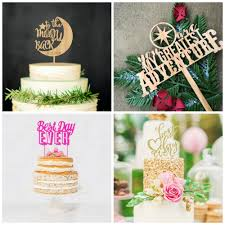 cake topper ideas 19 of the cutest wedding cake topper ideas