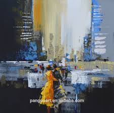 handpainted modern abstract decorative paintings musical