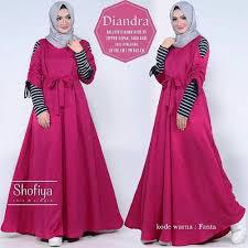 Baju Muslim Wanita baju muslim wanita diandra dress promo jual beli plukme plukme