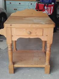 solid pine butchers block in christchurch dorset gumtree solid pine butchers block image 1 of 2