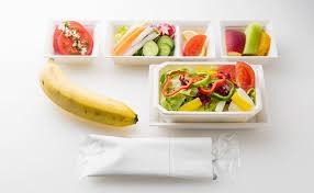 cuisine crudivore image repas crudivore airplane food