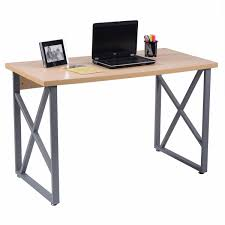 costway computer desk pc laptop table writing study workstation