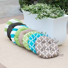 Patio Furniture Cushion Covers by 16 Inch Round Bistro Chair Cushions Choice Comfort Your Cushions