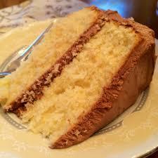 yellow cake w coffee chocolate frosting lady diana u0027s pearls