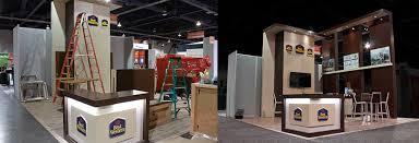 Wood Machinery Show Las Vegas by Custom Exhibits Rental Booths Exhibit Design Las Vegas Expo