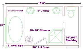 large master bathroom floor plans master bath 8x15 free design ideas with oval spa large vanity and
