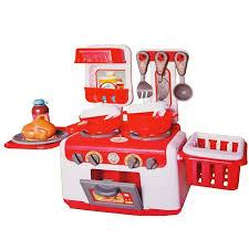 accessoires cuisine enfant cuisinière cuisine enfant nombreux accessoires avec lumière
