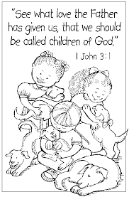 free printable christian cool christian color pages