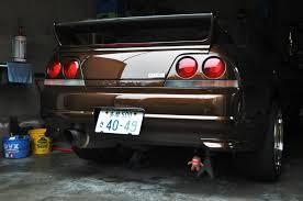 nissan skyline japan life japan license plate