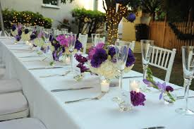 wedding shower table decorations tv host vanessa minnillo s glamorous bridal shower inside weddings