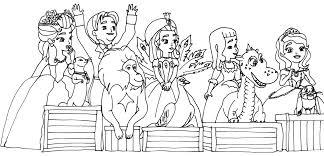 princes sofia coloring pages coloring sofia
