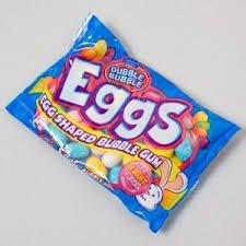 easter egg gum dubble egg shaped gum 5 5 oz