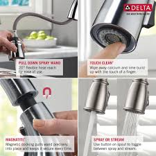 how to install delta kitchen faucet voluptuo us
