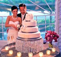 dia1640cm h820cm round crystal wedding cake stand dhl fedex ems