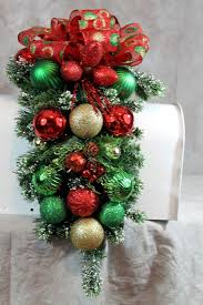 Christmas Mailbox Decoration Ideas 45 Best Mail Boxes Images On Pinterest Christmas Wreaths