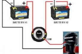 dual battery isolator wiring diagram u0026 auto battery wiring diagram
