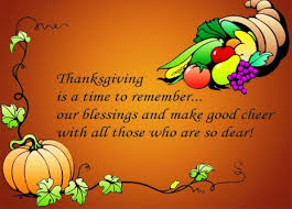 thanksgiving cheer today and everyday god bless us all