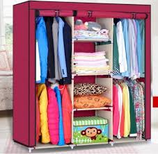 storage wardrobe with shelves portable storage closet portable