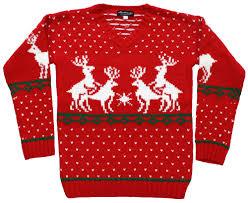 reindeer s sweater in