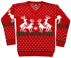 sweater in reindeer s sweater in