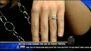 black friday diamond ring sales win this 10 000 diamond ring and the perfect proposal cbs news