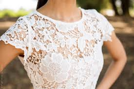 white lace how to wear a white lace top to the office