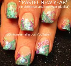 Nail Art Designs For New Years Eve Easy Nye Nails Pretty Glitter New Years Eve Nail Art Design