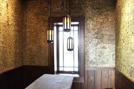 Wood Wall Covering by Gold Birch Bark Wood Wall Covering Bark House