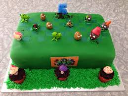 Plants Vs Zombies Cake Decorations Kiwi Cakes Plants Vs Zombies Cake For My Wee Friend Spencer