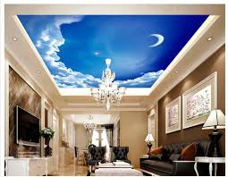 amazing ceiling design for elegant living room with leather tufted