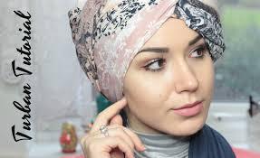 tutorial hijab nabiilabee turban tutorial square scarf side twist nabiilabee youtube