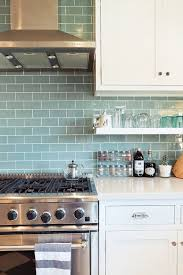 The  Best Glass Subway Tile Backsplash Ideas On Pinterest - Teal glass tile backsplash