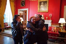 Red Room by File Women In The Red Room After Meeting Michelle Obama Jpg