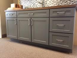 kitchen island full overlay drawer stacks should end panels