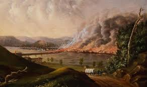 Great Chicago Fire Map great fire of pittsburgh wikipedia