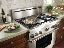 cool gas stove with grill in middle from a 36 inch to 48 range