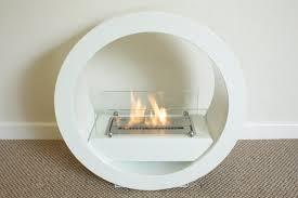 free standing ethanol fireplace interior decorating ideas best