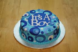 lindsay u0027s custom cakes blue baby shower cake