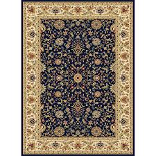 Concord Global Area Rugs Shop Concord Global Cyrus Navy Indoor Area Rug Common 8