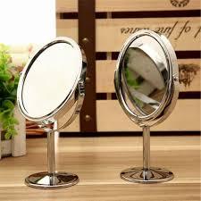 Cermin Dua Sisi kecantikan makeup kosmetik cermin dua sisi normal dan melingkar