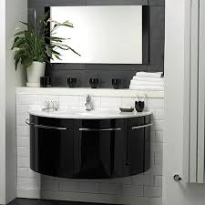 High Gloss Bathroom Furniture Hudson Reed Moon Wall Hung Furniture Set High Gloss Black